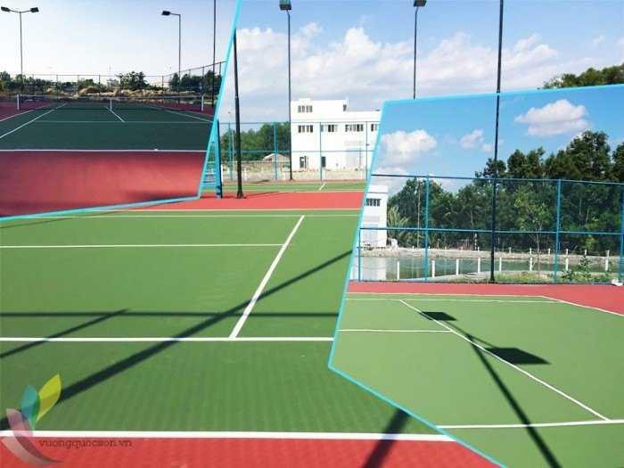 Hướng Dẫn Thi Công Sơn Sân Tennis