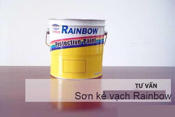 Sơn kẻ vạch Rainbow có tốt không?