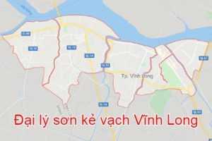 Đại lý Sơn kẻ vạch tại Vĩnh Long