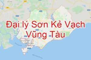 Đại lý Sơn kẻ vạch tại Vũng Tàu